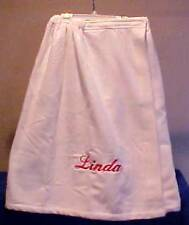 Monogrammed Women's Plus Size, XL Shower Spa Towel Wrap