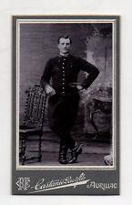 CDV - PHOTO - MILITAIRE Régiment 139 Castanié Père et Fils Aurillac Vers 1900