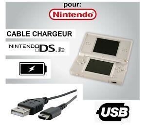 Câble Chargeur de Batterie USB Adaptateur pour Console Nintendo DS Lite NDSL