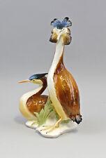 Oiseau ENS-Porcelaine Personnage bretonnes plongeurs h29cm 4394