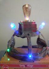 Halloween Electro Shock Mad Scientist Headband Hat Lights & Sound New HTF RARE