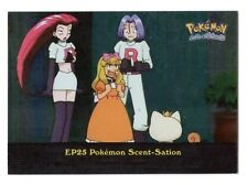 Pokemon SPECIAL #EP 25 SCENT-Sation TV Animation Edition Card TOPPS Nintendo