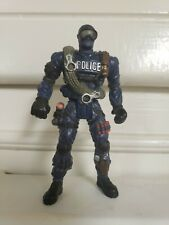 RARE Chap Mei Police Force Series III S.W.A.T. SWAT Team Repelling Specialist