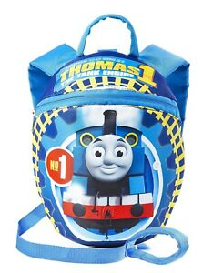 Thomas & Friends Blue Reins Backpack with Baby Safety Harness for Children