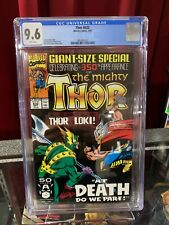 Mighty Thor #432 CGC 9.6, Marvel Comics, Key! 1st Thor 2, 1991 MCU