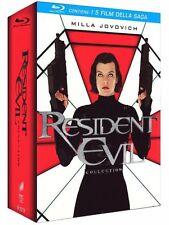 Pack Resident Evil La saga ESPAÑOL BLU RAY  1 2 3 4 5 CASTELLANO NUEVO BLURAY nv