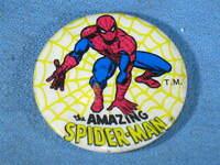 "Vintage The Amazing Spider-Man Best Seal Corp 1975 Button 1-3/4"" Diameter"