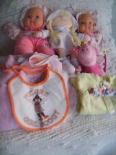 HUGE MIXED LOT Baby Girl Items BLANKETS SLEEPERS GOWNS BIBS DOLLS HEADBAND Nice!