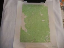 Vintage 1957 USGS Topographic Map Willard Washington Metsker Maps
