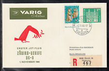 W 03 ) FFC 1966 Varig Airlines First Jet Flight DC 8 Zurich Recife Brasilien