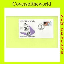 Olympics First Day Cover New Zealand Stamps