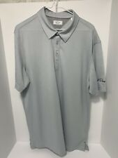 AdiPure by Adidas Mens Golf Polo Shirt L NWOT