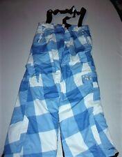 Pantalon de Ski Bleu Blanc  a Bretelle  Taille XL