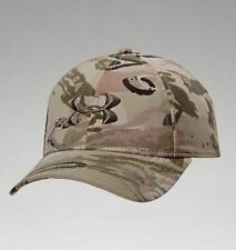 Under Armour Hat Camo Realtree Mossy Oak Adjustble Cap Hunting Hiking Camping A4