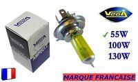 ► Ampoule Jaune ancien Marque Française VEGA® H4 55W Auto Moto 12V ◄