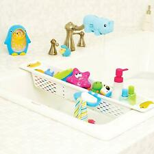 Munchkin Kids Bath Toy Caddy Plastic Organiser Storage Toys Holder Adjustable