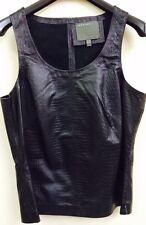 Muubaa Black Sleeveless Vest top. RRP £220. UK 10. M0529
