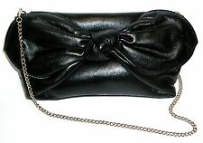 BLACK EVENING/PARTY/FORMAL CLUTCH OR CARRY BAG