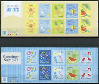 Japan Stamps 2019 MNH Summer Greetings Fish Fruits Fireworks 2x 10v S/A M/S
