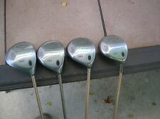 Callaway Big Bertha S2H2 Original 1-3-4-5 Ladies Woods Set Gems Graphite Shafts