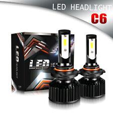TURBOSII DOT LED Headlight 9005 HB3 6500K High Beam or Fog Bulb White PAIR LXP