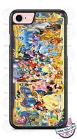 Disney Characters Group Phone Case for iPhone X 8 PLUS Samsung Google LG etc