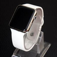 Silicone LED Men Womens Sport Watch Digital Bracelet Wrist Watches Unisex Hot O2