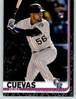 2019 Topps Series 2 NOEL CUEVAS Black Parallel /67 Rockies Rookie RC #417