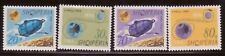 ALBANIA Sc 941-44 NH ISSUE OF 1966 - SPACE
