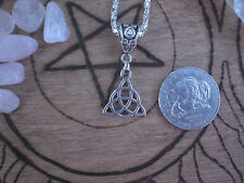 Celtic Triquetra Goddess Mother Maiden Lady Necklace