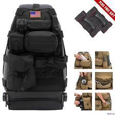 ORYX Seat Cover Organizer Front w/ 7 Pocket Design For Jeep Wrangler JK/YJ/TJ/LJ