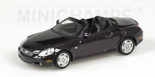 Lexus SC 430 2001 Purple 1:43 Model 400166132 MINICHAMPS