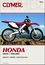Honda CR125R Repair Manual 1998-2002