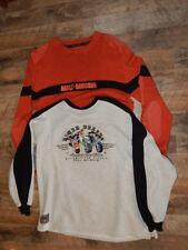 2 Officially Licensed 2000 Harley Davidson & Warner Bros Taz Sweatshirts-RARE!