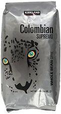 Kirkland Colombian Supremo Whole Bean Coffee 1.36kg