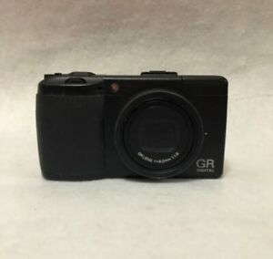 Ricoh GR DIGITAL III 10.0MP Digital Camera - Black from Japan