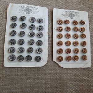 Set of 24 Beautiful Blue Green 1930/'s Aqua Plastic Buttons Craft Buttons Sewing Buttons,Buttons 58 Vintage Buttons Blue Craft Buttons