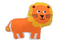 NEW Kids Lion Plush Cushion Orange and Yellow Handmade in Australia