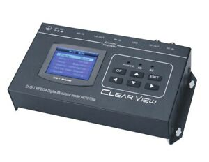 New ClearView HD1010se Modulator HDMI in/ HDMI loop out and CVBS in