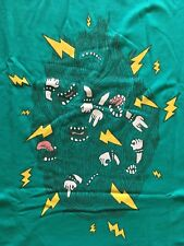 Threadless  HEAVY METAL LISTENING PARTY xxl 2xl punk T-shirt rare sold out NEW