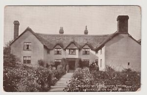 Devon postcard - Budleigh Salterton, Hayes Barton, Walter Raleigh - (A3190)