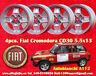 4 Cerchi CD30 Cromodora Autobianchi A112  Wheels Felgen llantas Jantes TUV Fiat
