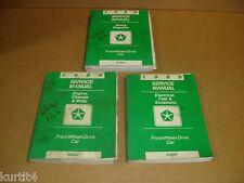1989 Dodge Lancer Daytona Shelby Shadow Dynasty Omni shop service repair manual