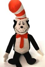 "Dr. Seuss Vintage Cat In The Hat Stuffed Plush Toy by Kohl's Cares 22"" Q132"