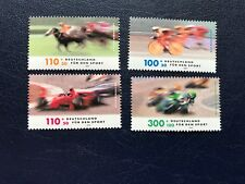 GERMANY BRD FRD MNH 1999 RACING SPORTS CARS HORSES BICYCLES MOTORCYCLES BIKES