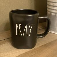 Rae Dunn - PRAY - LL Black Ceramic Coffee Mug
