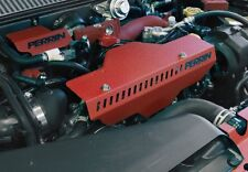 Perrin Pulley & Belt Cover RED fits Subaru 02-13 WRX & STi Turbo