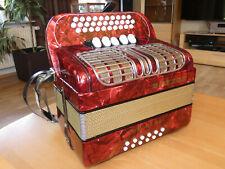 Hohner Corona III RS Knopfakkordeon with case (Harmonica,Handharmonika Accordion