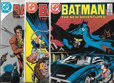 Batman #408, #409 & #410   Lot of 3 (1987, DC Comics)