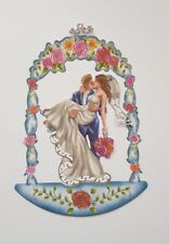 Die Cut Tattered Lace Bride & Groom Under The Romantic Gazebo Card Topper Crafts